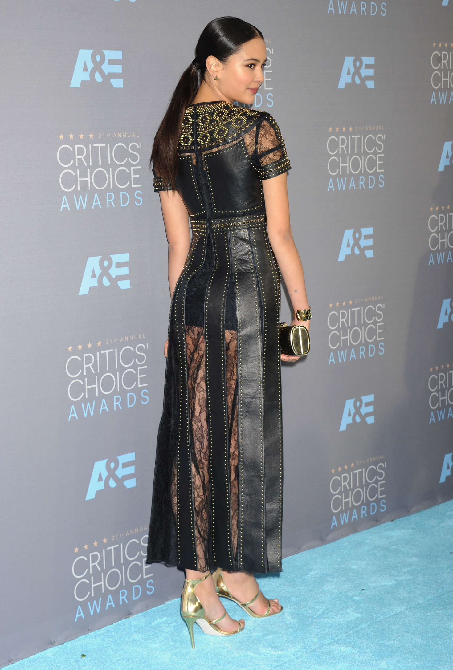 Courtney Eaton Annual Critics Choice Awards in Santa Monica
