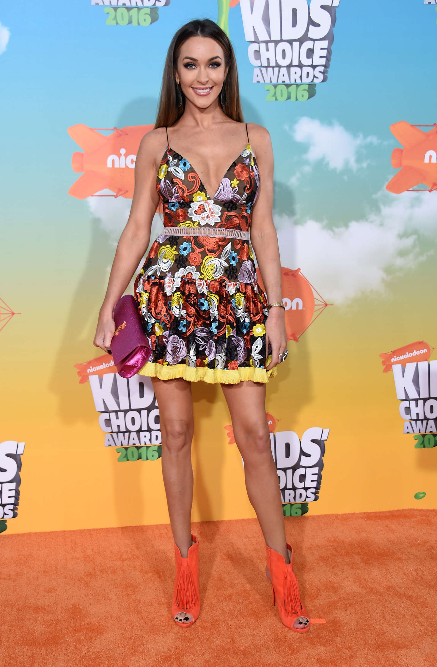 Courtney Sixx Nickelodeon Kids Choice Awards in Inglewood