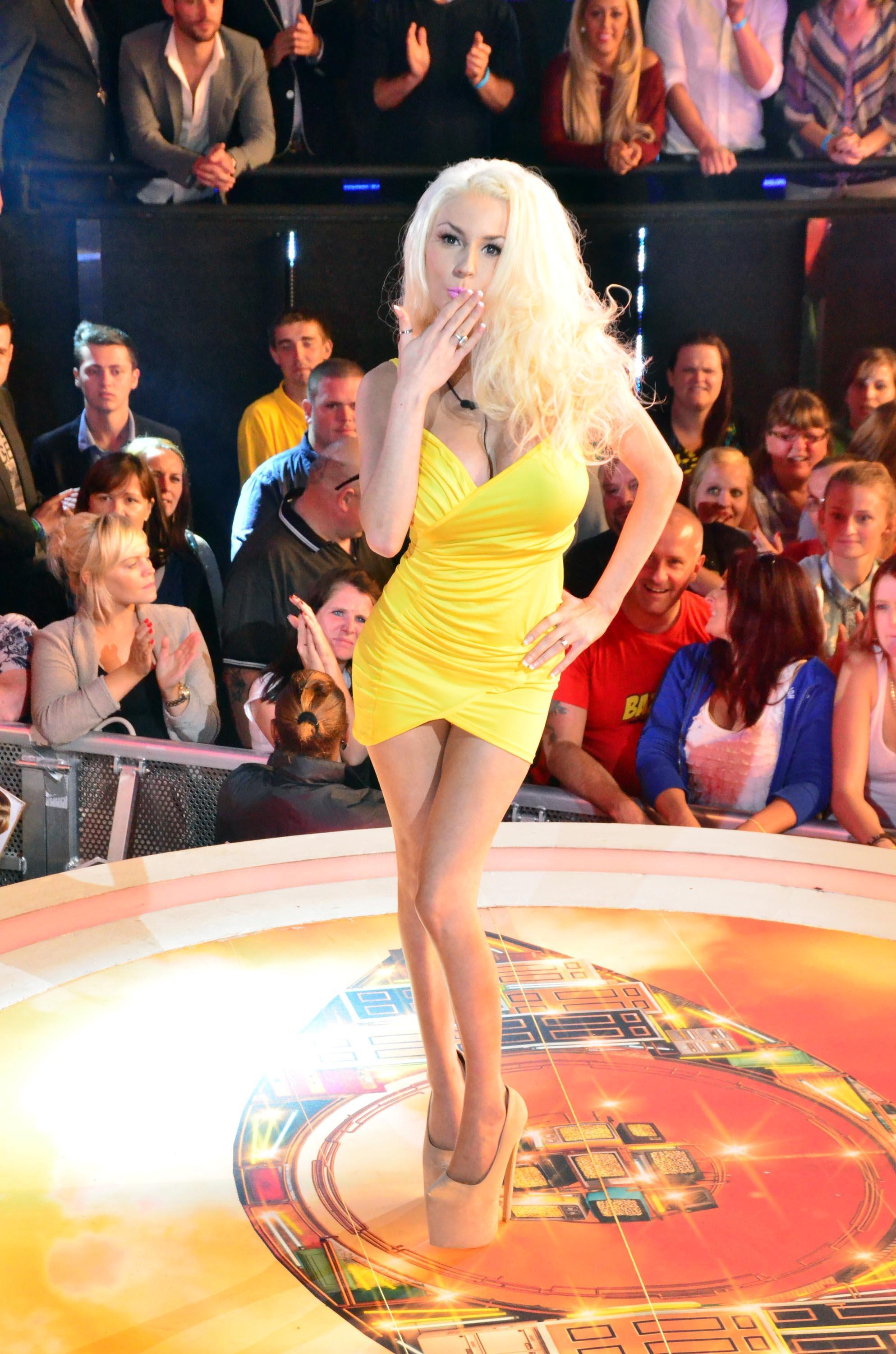 Courtney Stodden at Big Brother UK house