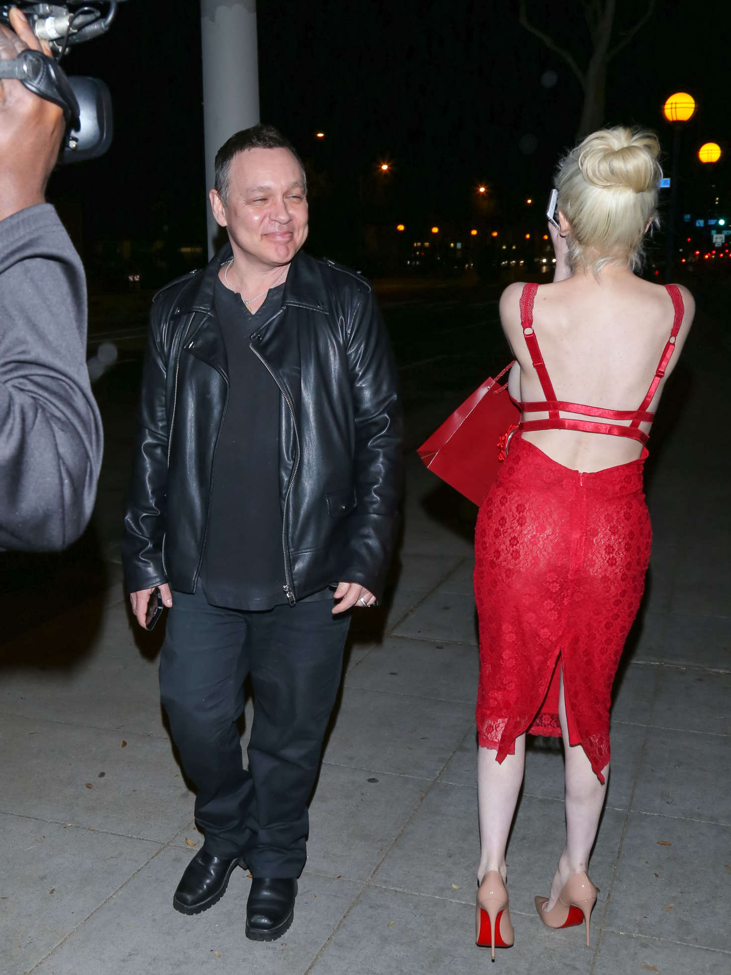 Courtney Stodden at Dan Tanas in West Hollywood
