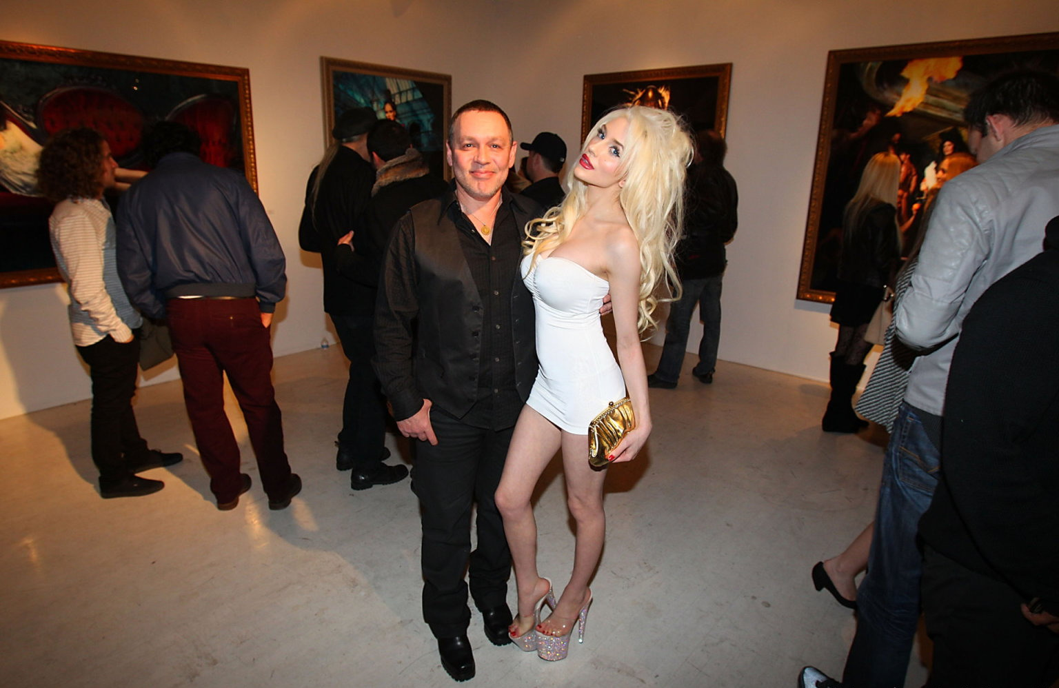 Courtney Stodden Markus Indrani Icon Book Launch in Los Angeles