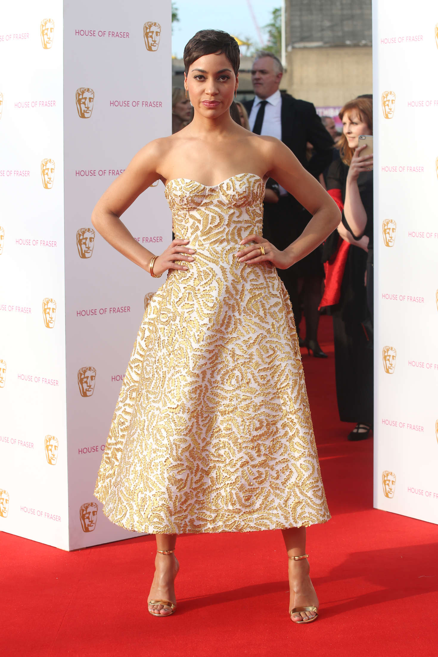 Cush Jumbo BAFTA TV Awards in London