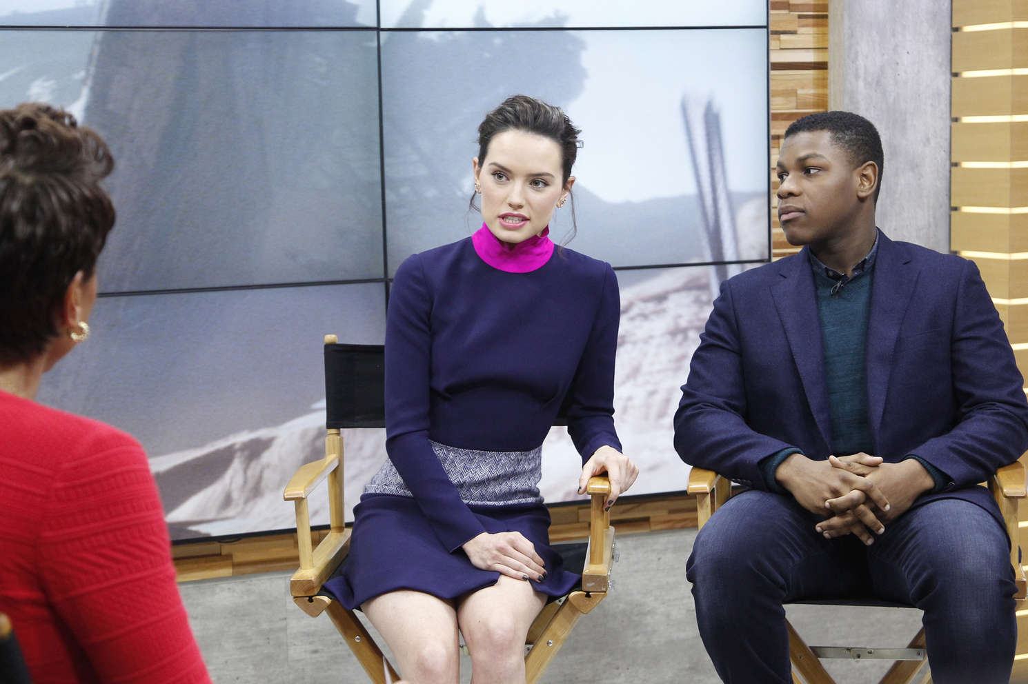 Daisy Ridley Good Morning America in New York