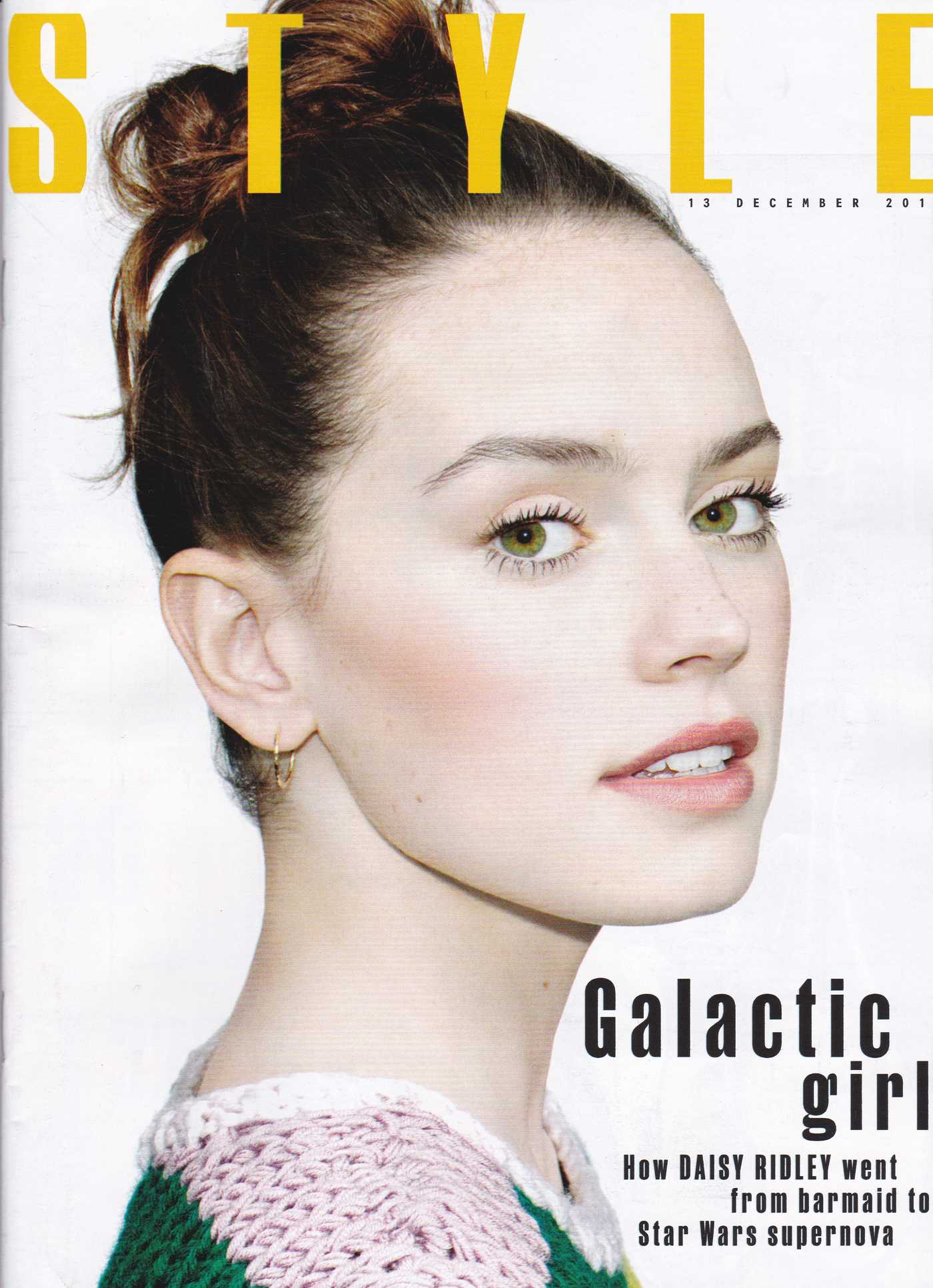 Daisy Ridley The Sunday Times Style Magazine