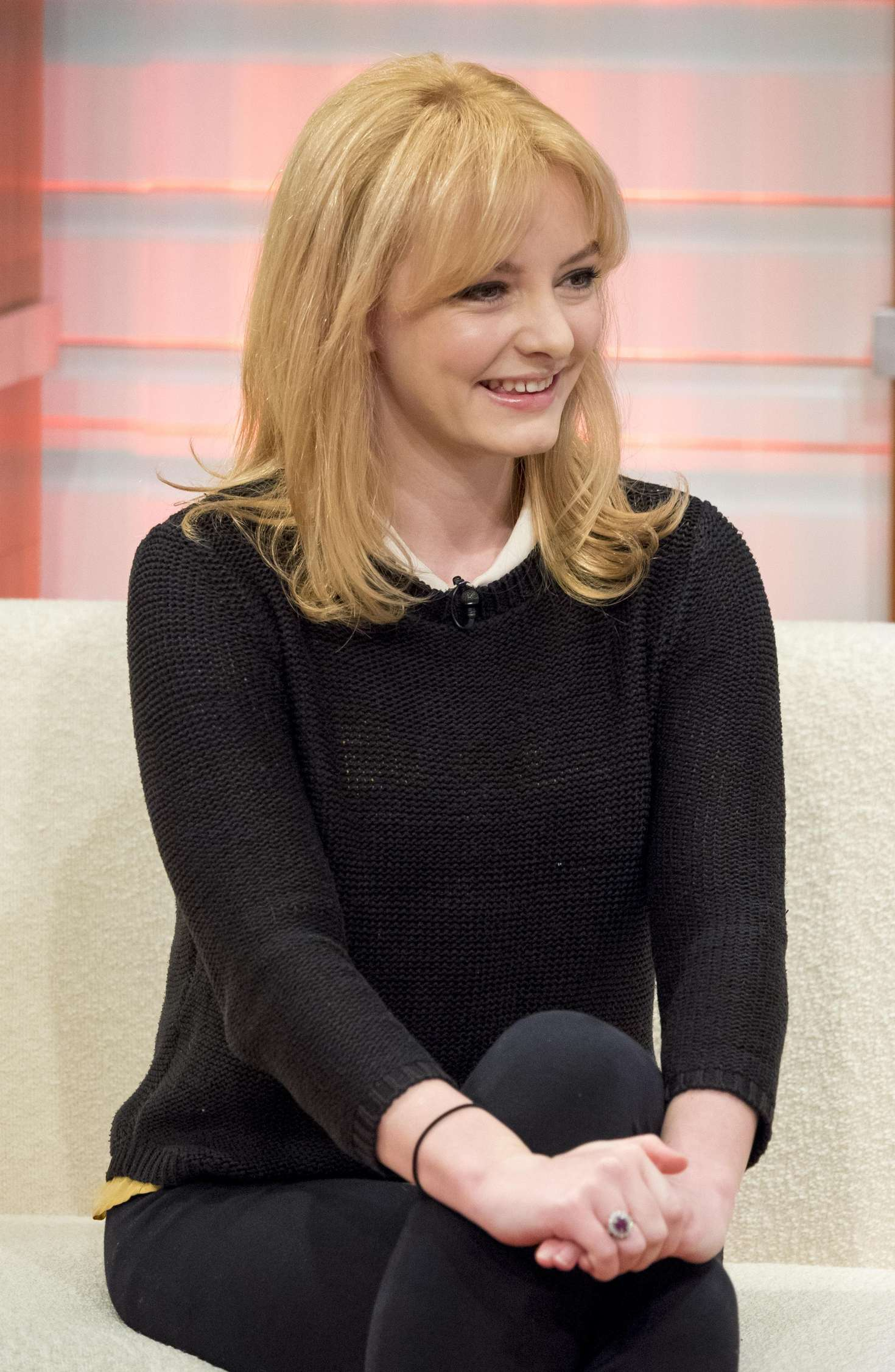 Dakota Blue Richards Good Morning Britain Show in London