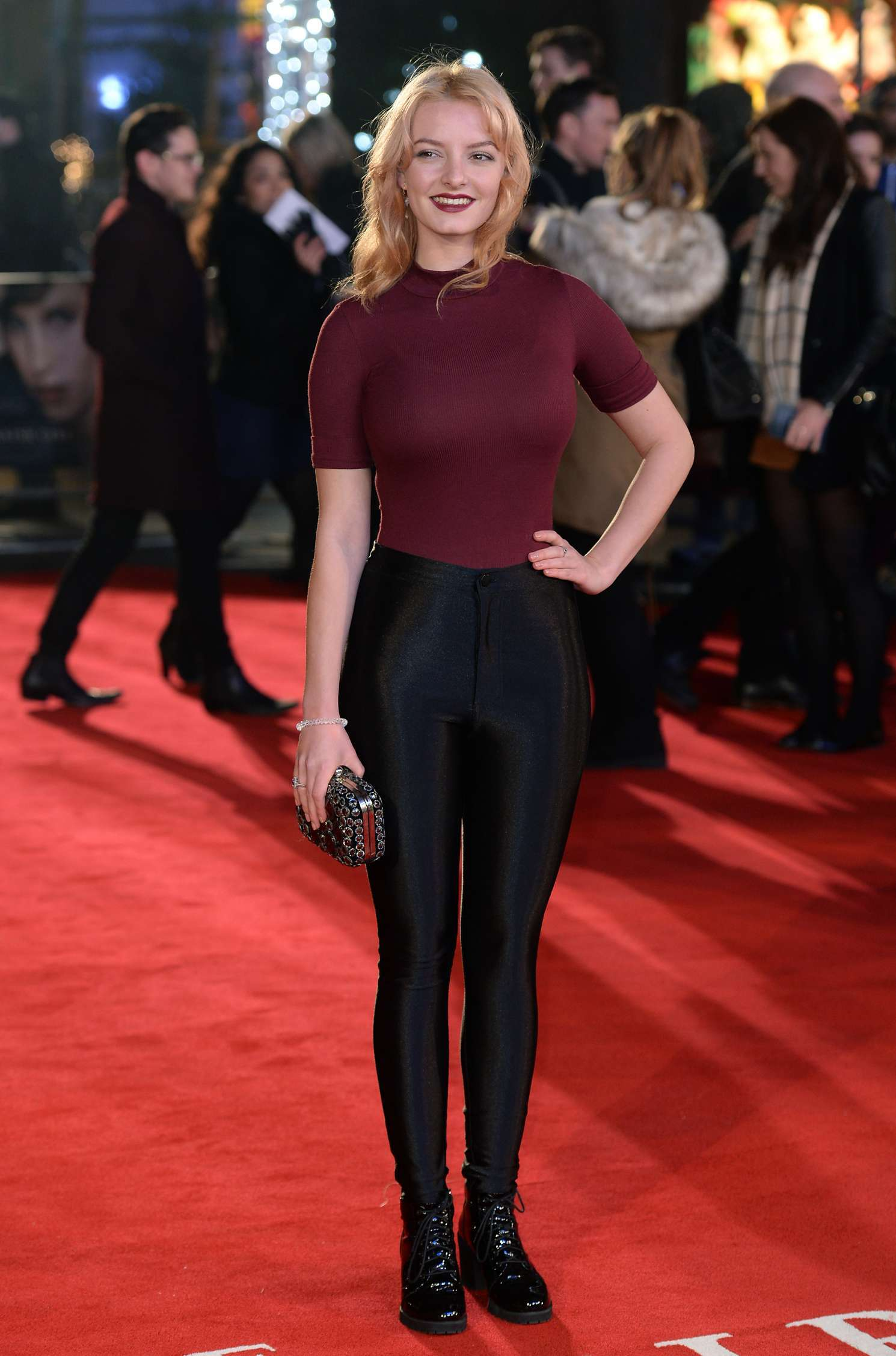 Dakota Blue Richards The Danish Girl premiere in London
