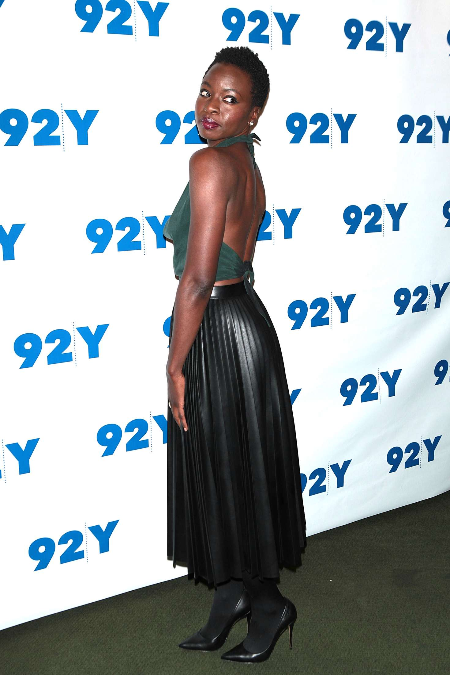 Danai Gurira The Walking Dead Screening in New York