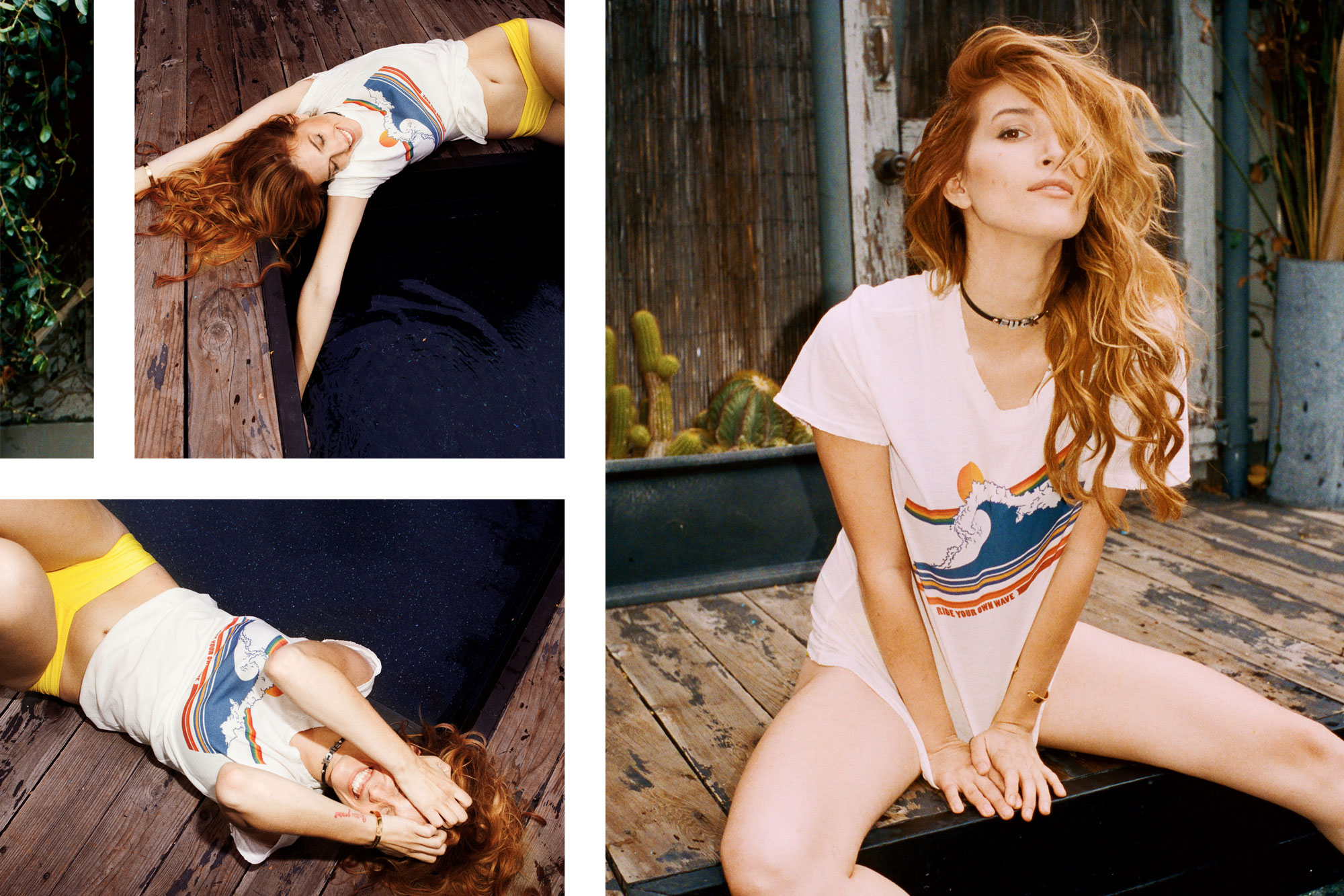 Dani Thorne Petals and Peacocks Summer Lookbook