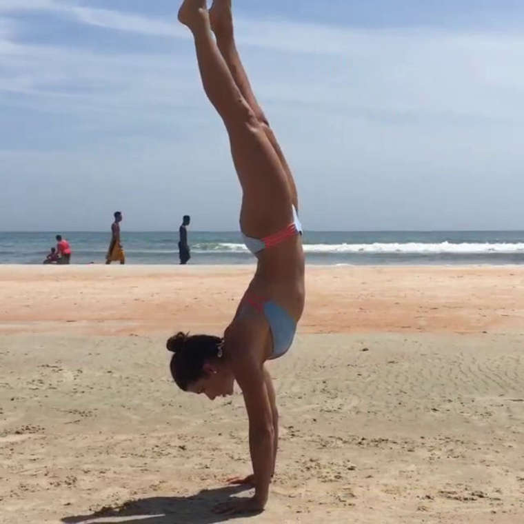 Danica Patrick in Bikini at Daytona Beach