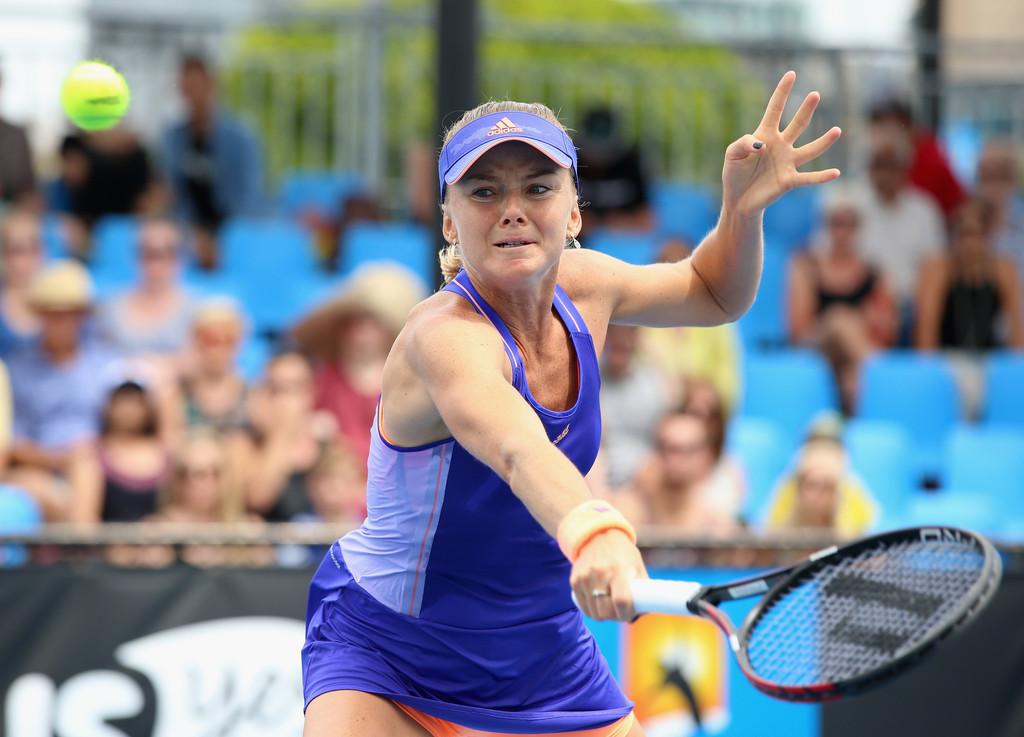 Daniela Hantuchova Australian Open in Melbourne
