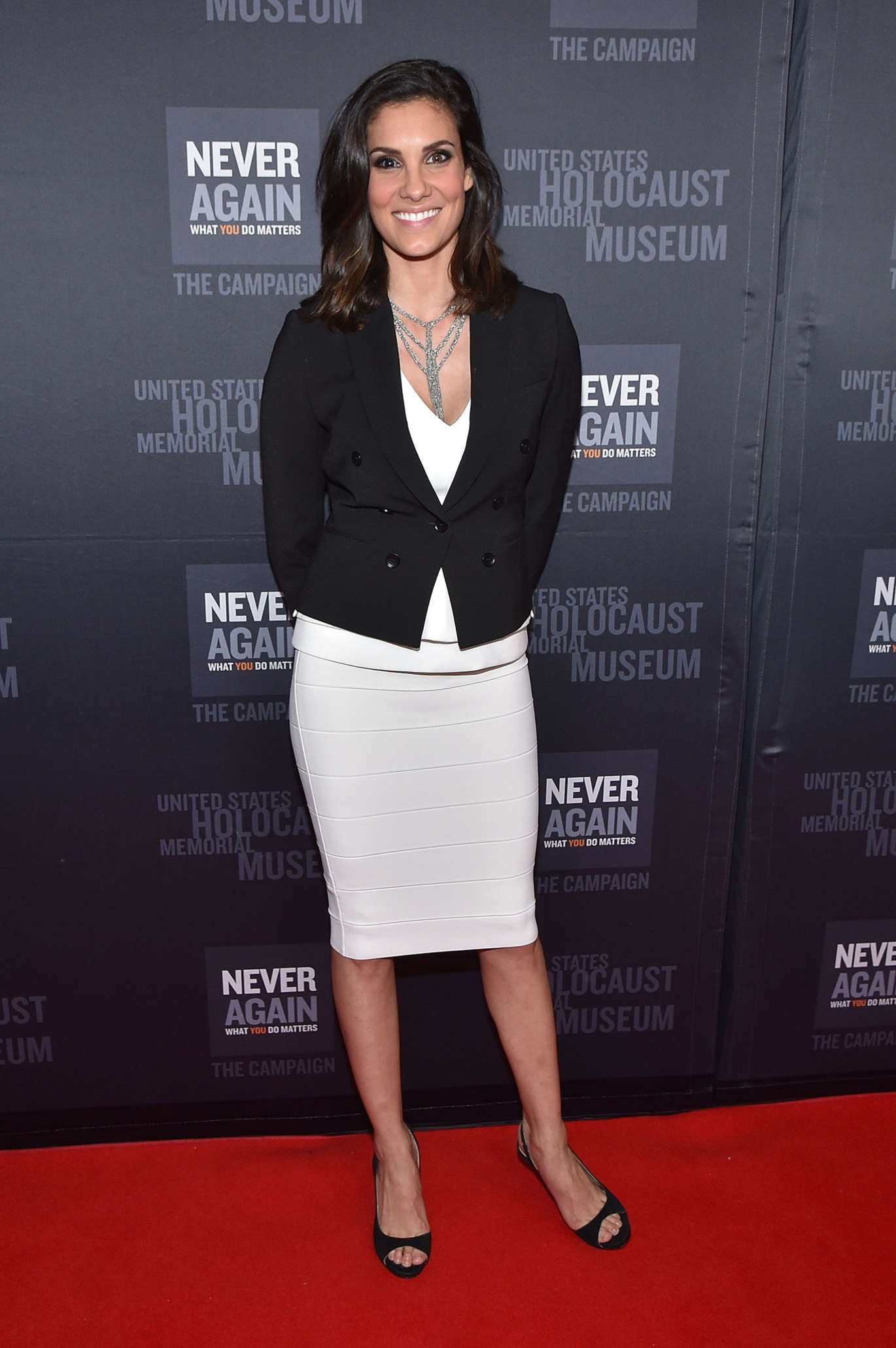 Daniela Ruah United States Holocaust Memorial Museum Presents Los Angeles Dinner What You Do Matters in Beverly Hills