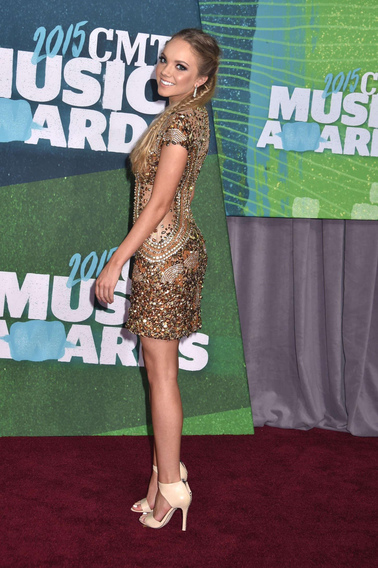 Danielle Bradbery CMT Music Awards in Nashville