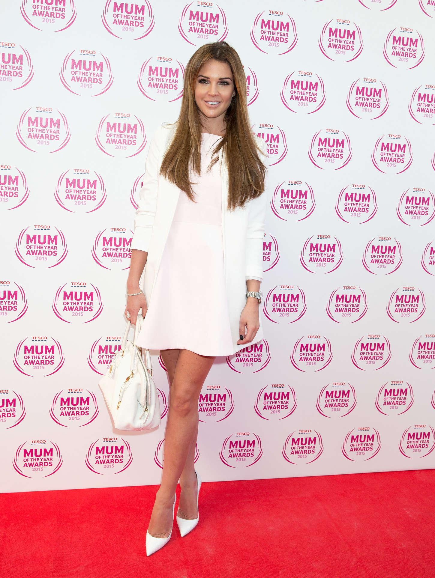 Danielle Lloyd Tesco Mum Of The Year Awards in London