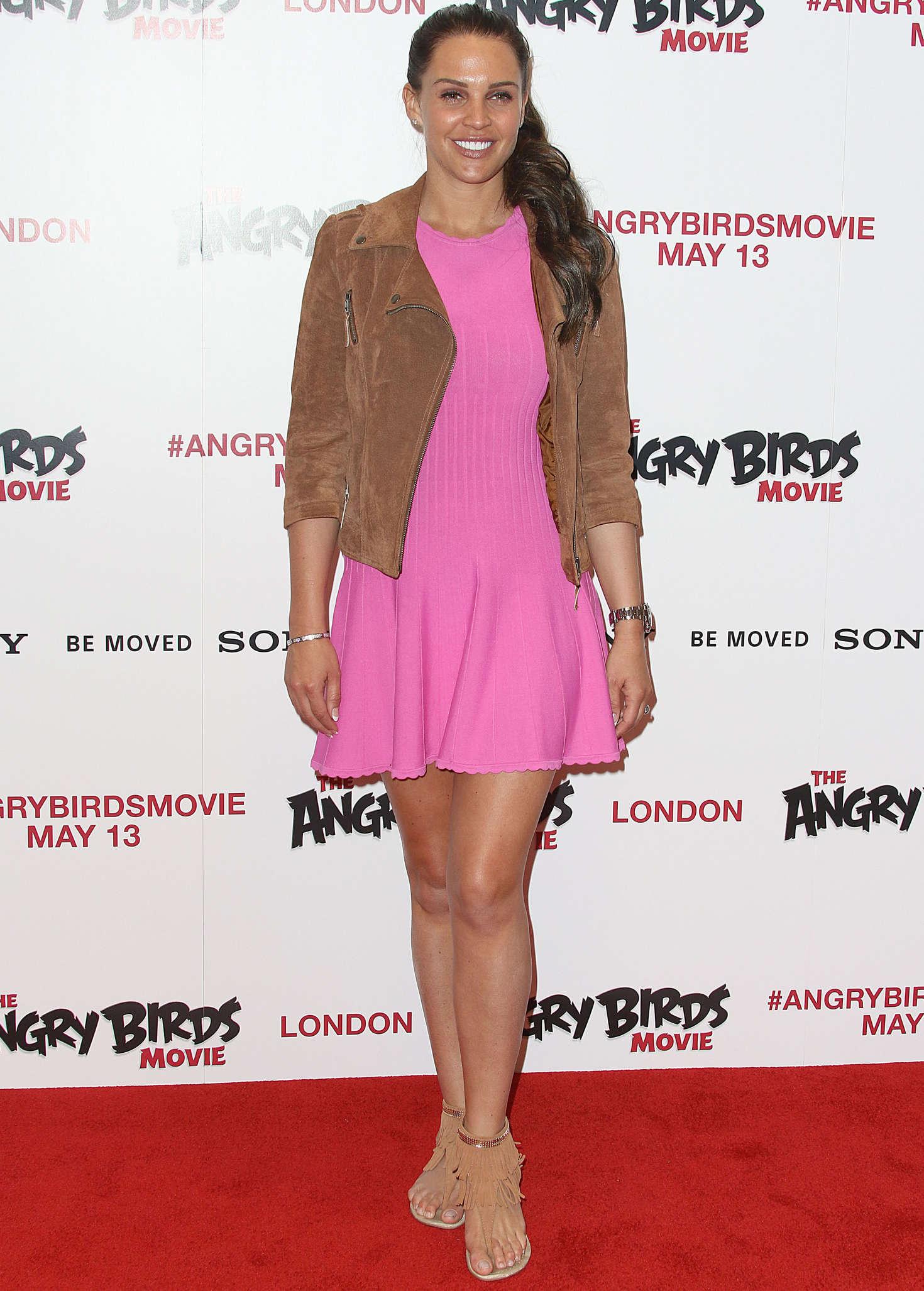 Danielle Lloyd The Angry Birds Gala Screening in London