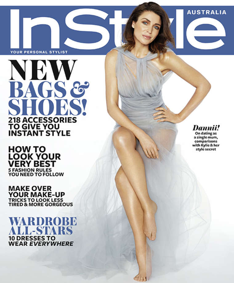Dannii Minogue InStyle Australia Magazine