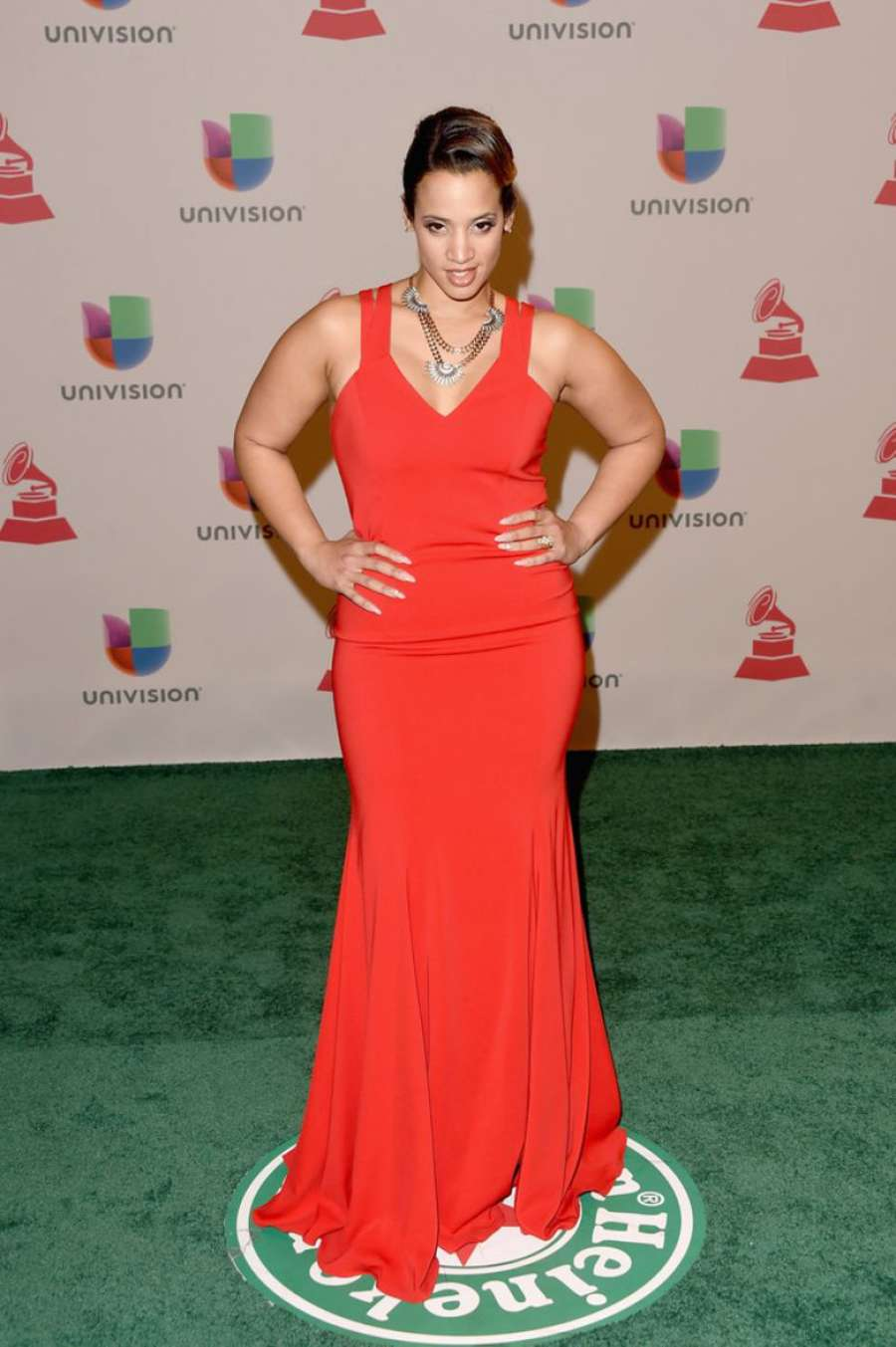 Dascha Polanco Annual Latin Grammy Awards in Las Vegas