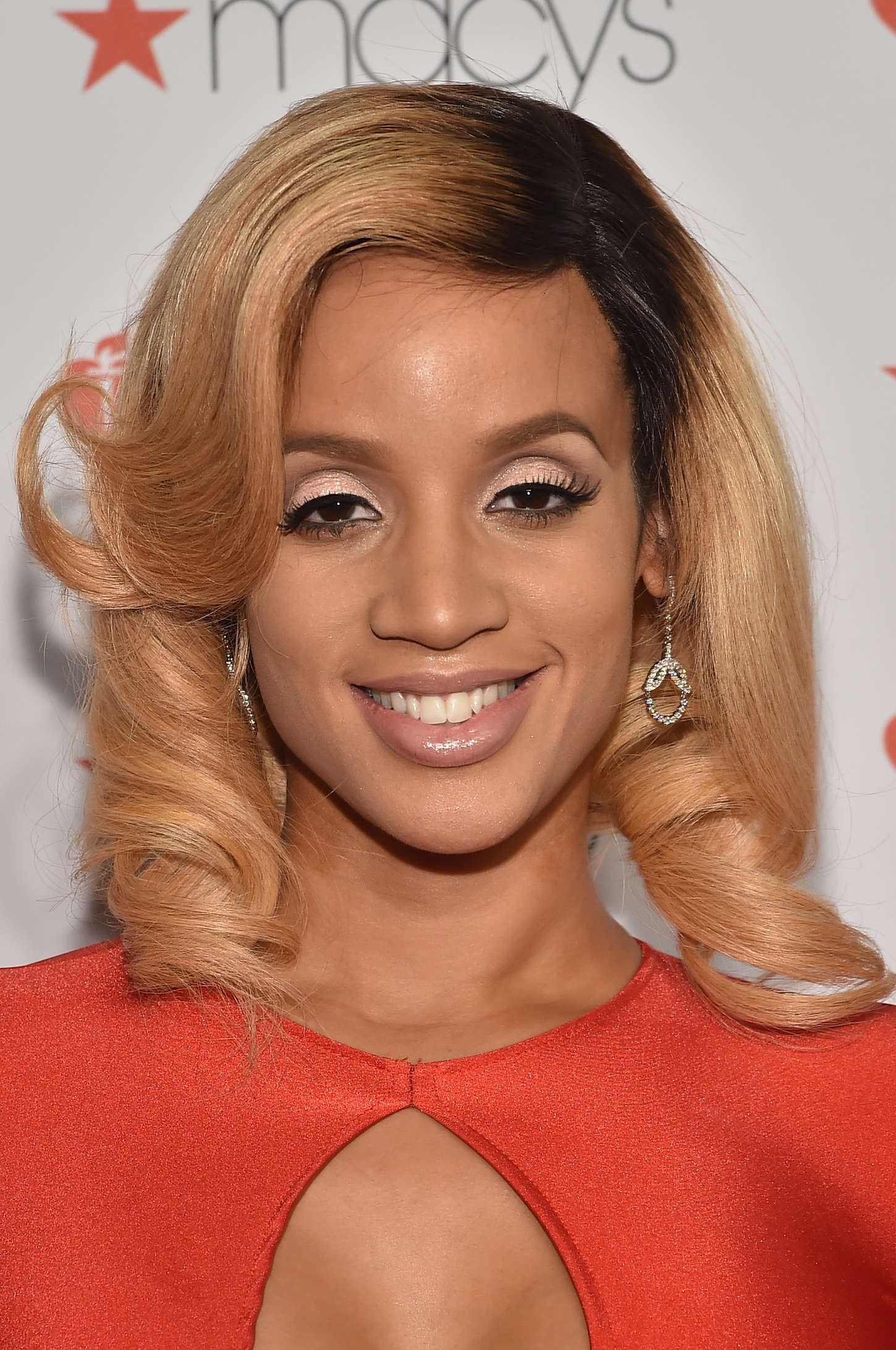 Dascha Polanco Go Red For Women Red Dress Collection in New York