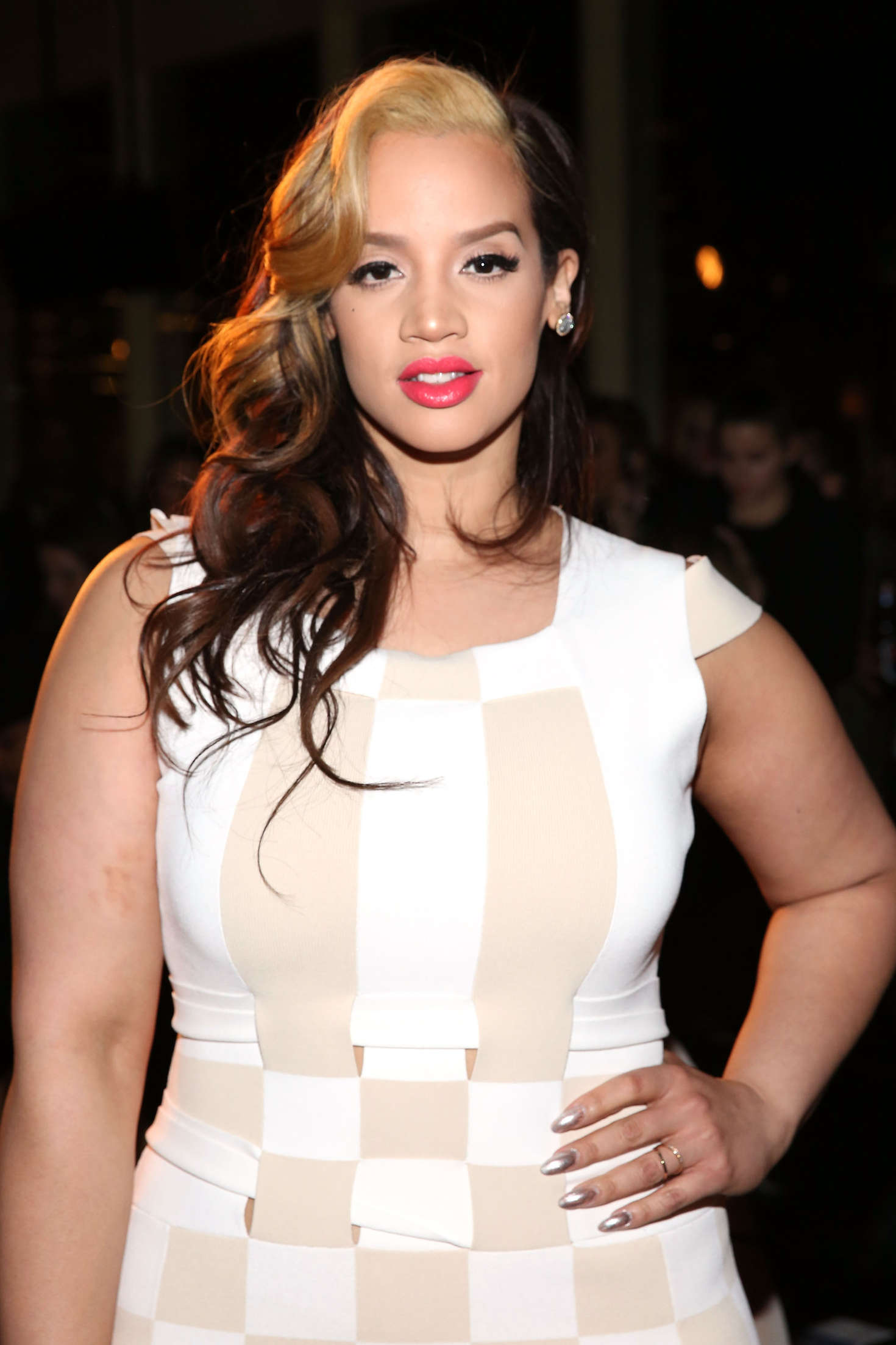 Dascha Polanco Opening Ceremony after party at New York Fashion Week