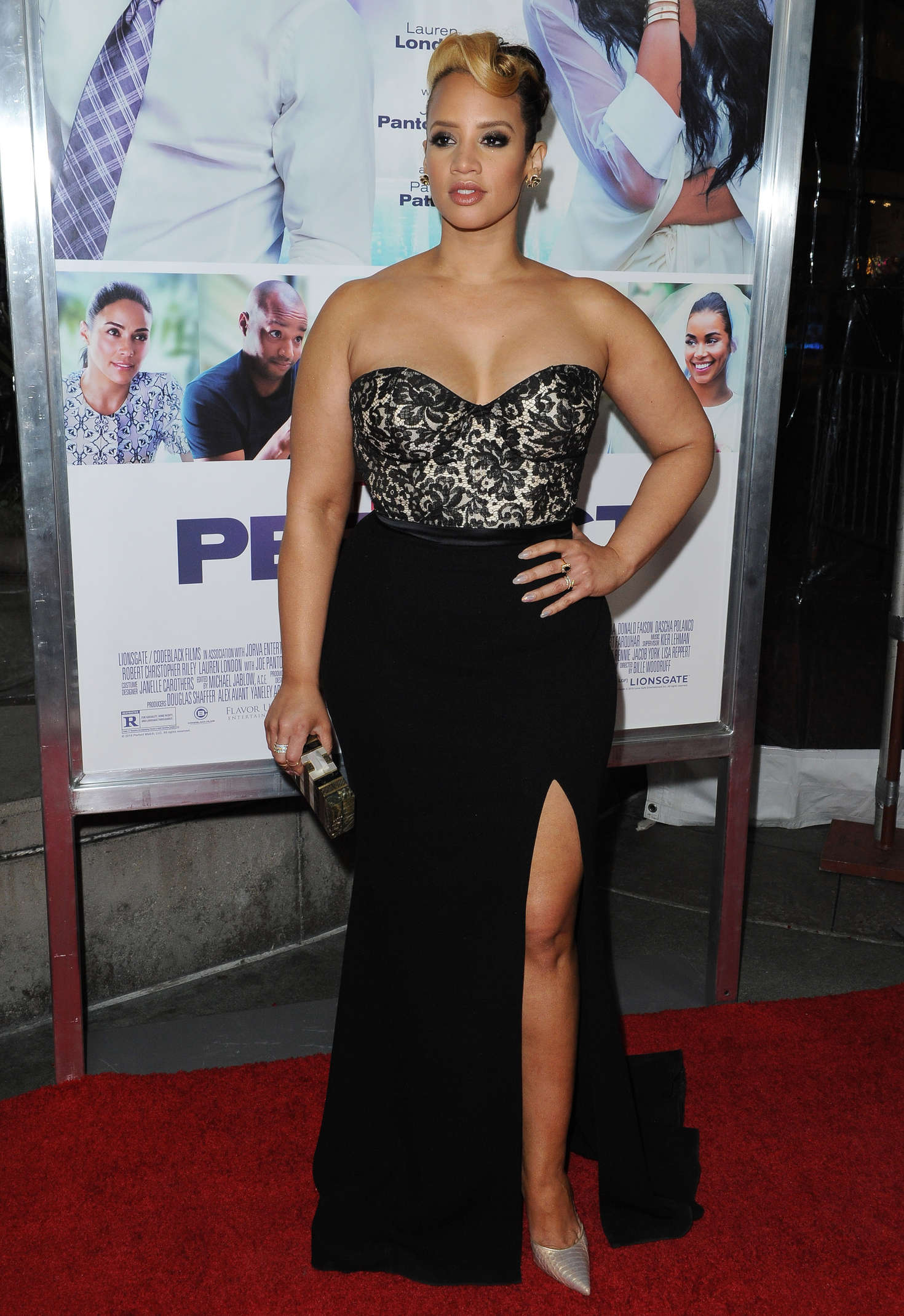 Dascha Polanco The Perfect Match Premiere in Los Angeles
