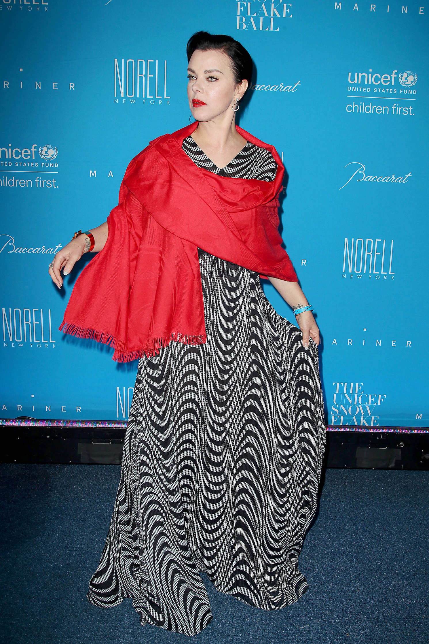 Debi Mazar UNICEF Snowflake Ball at Cipriani Wall Street in New York City