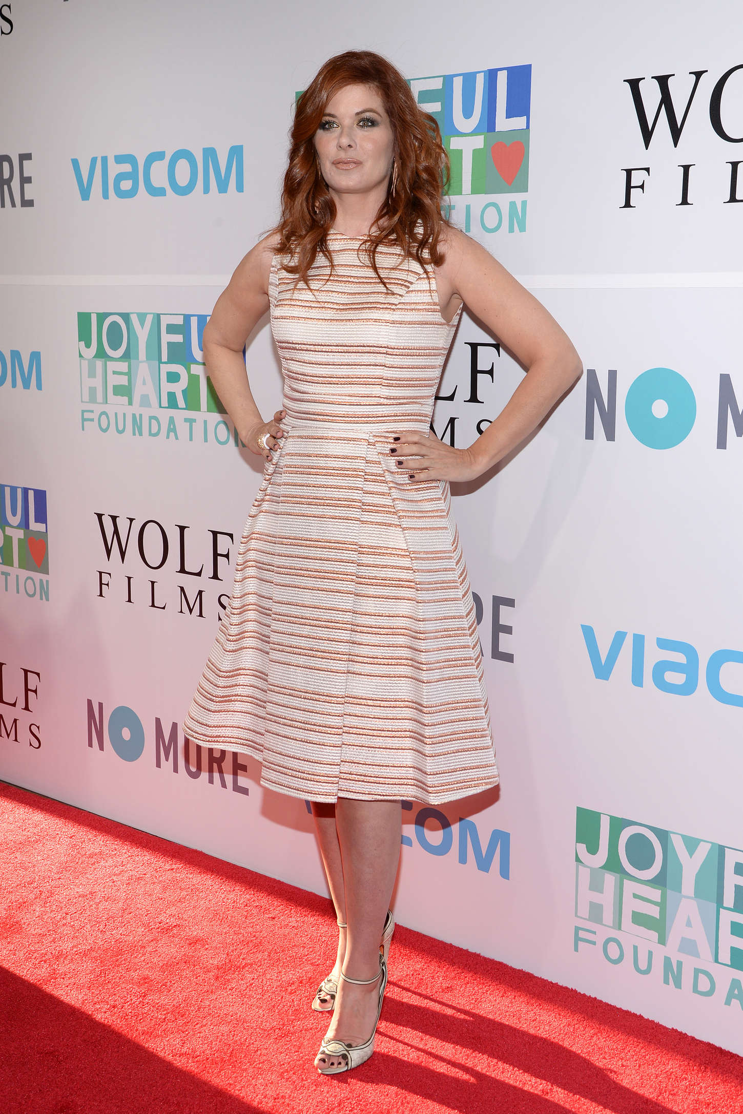 Debra Messing The Joyful Heart Foundation Presents The Joyful Revolution Gala in New York