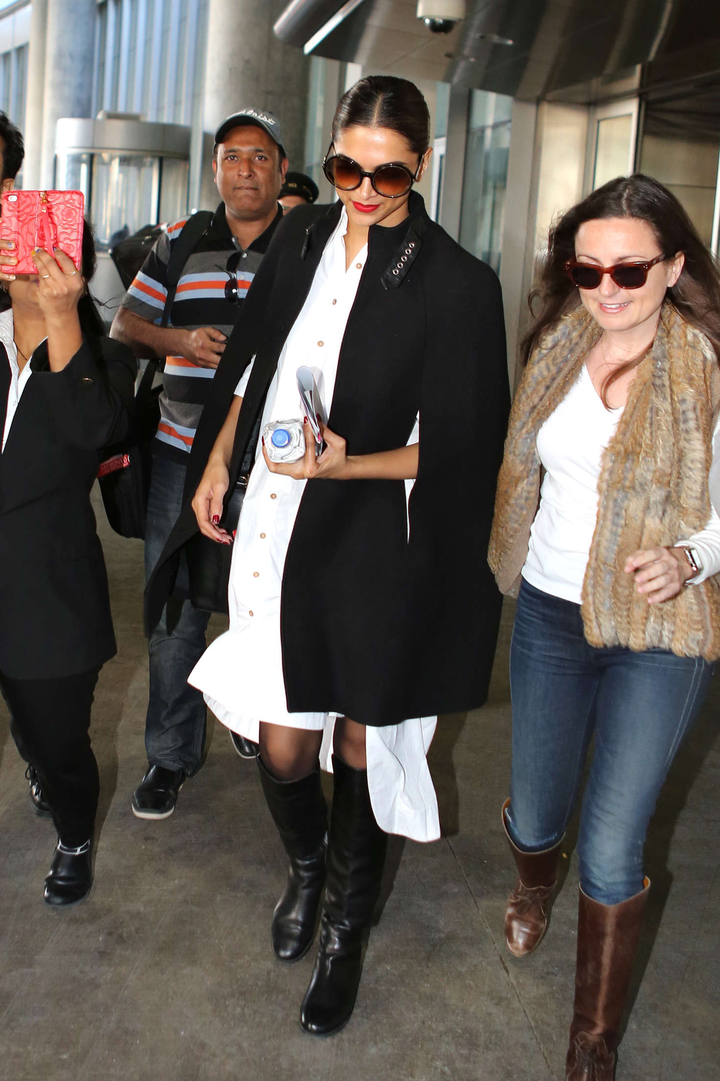 Deepika Padukone Arriving in Toronto