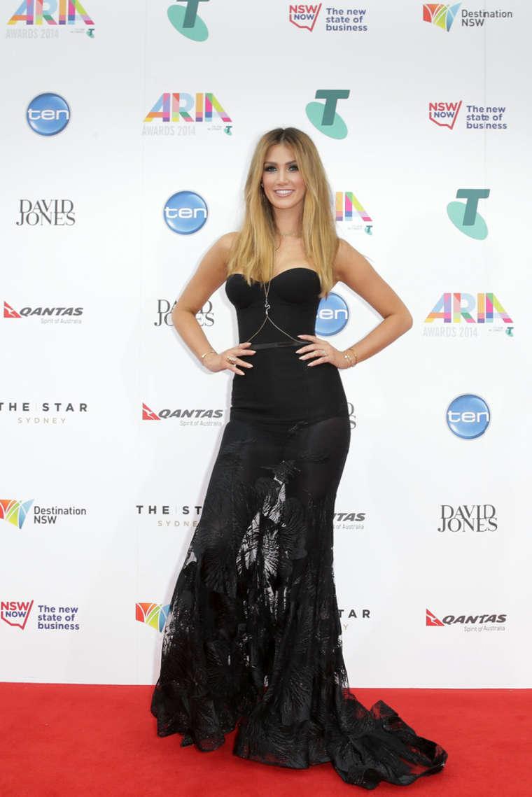 Delta Goodrem Annual ARIA Awards in Sydnety