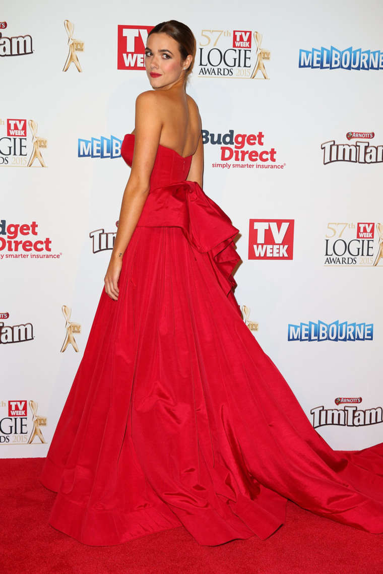 Demi Harman Annual Logie Awards At Crown Palladium in Melbourne