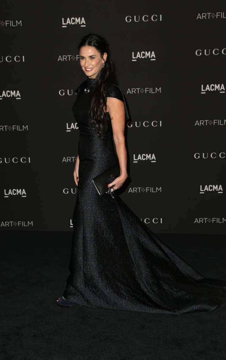 Demi Moore LACMA Art Film Gala in Los Angeles
