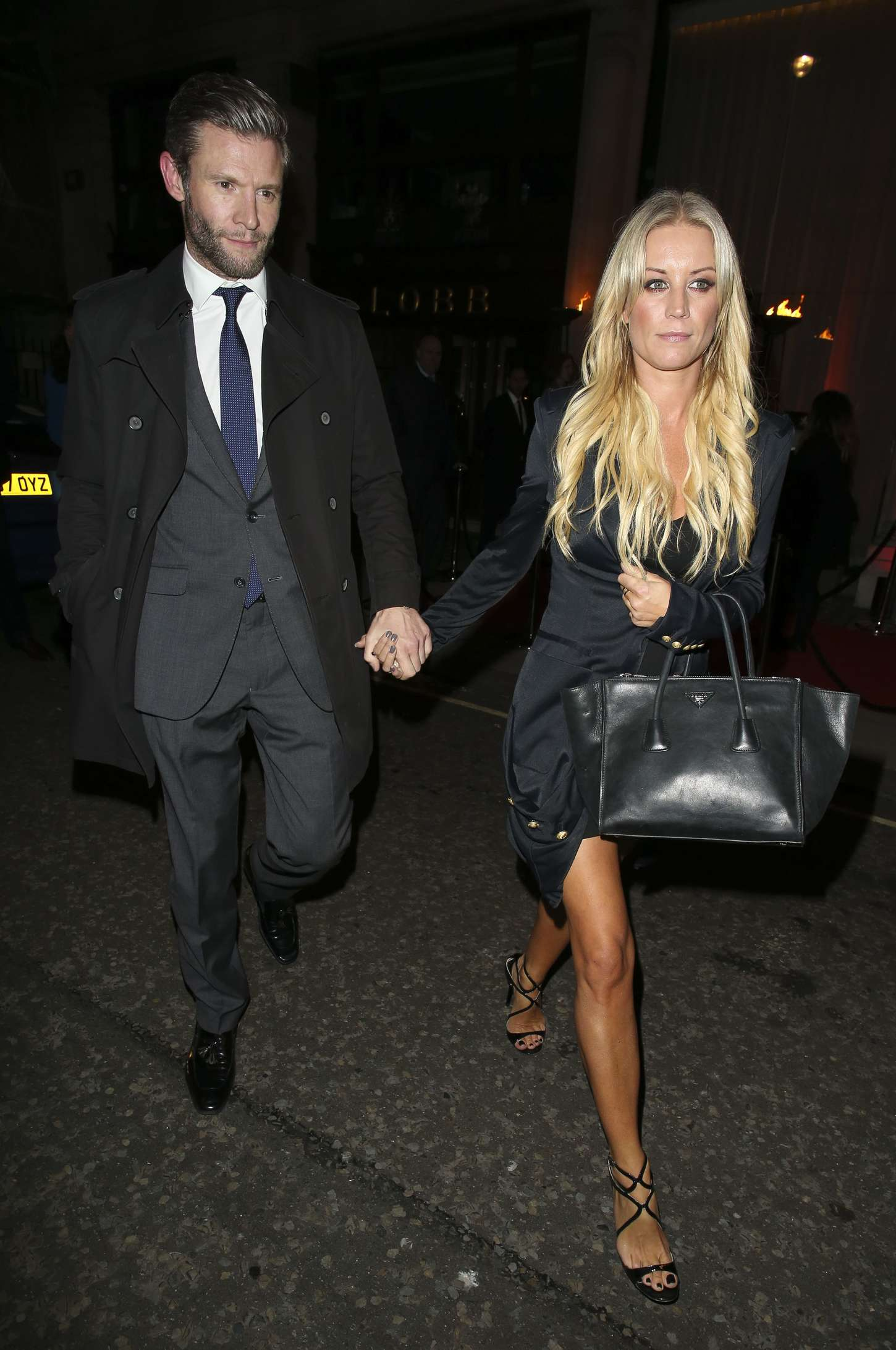 Denise Van Outen Professor Jonathan Shalits OBE Party in London