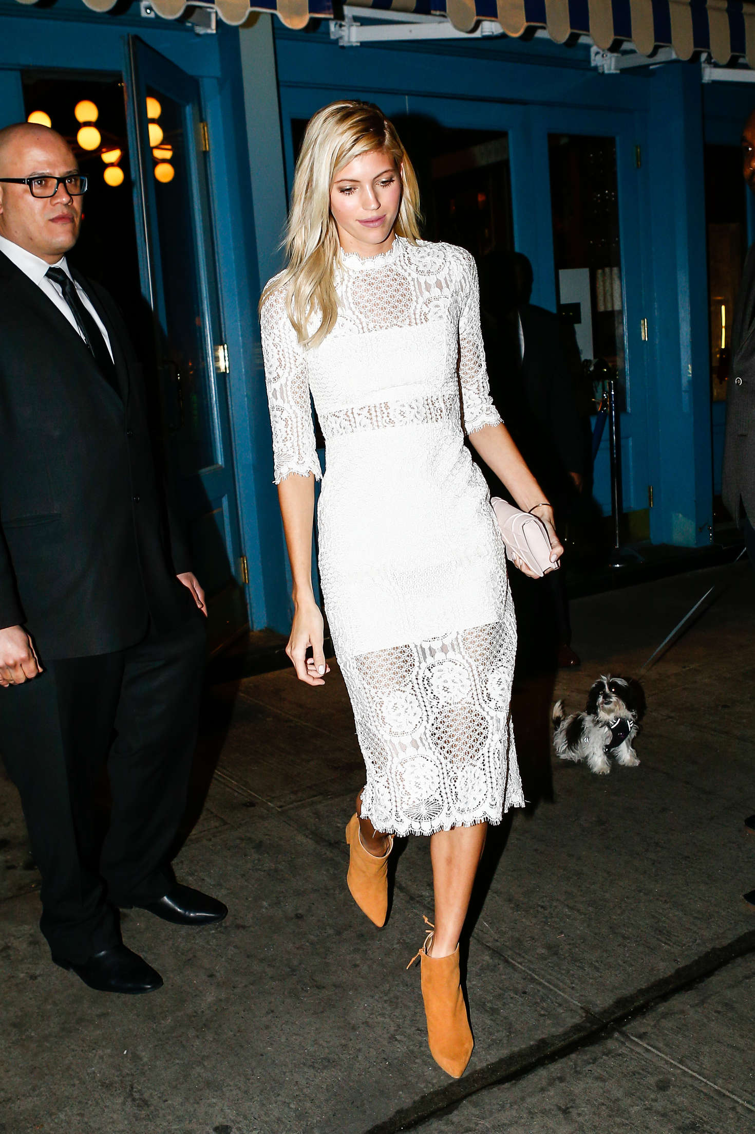 Devon Windsor Attends at Pencils of Promise Event in New York