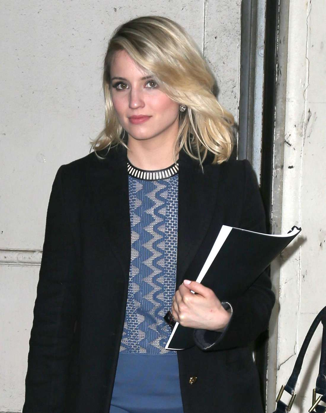 Dianna Agron Out in New York
