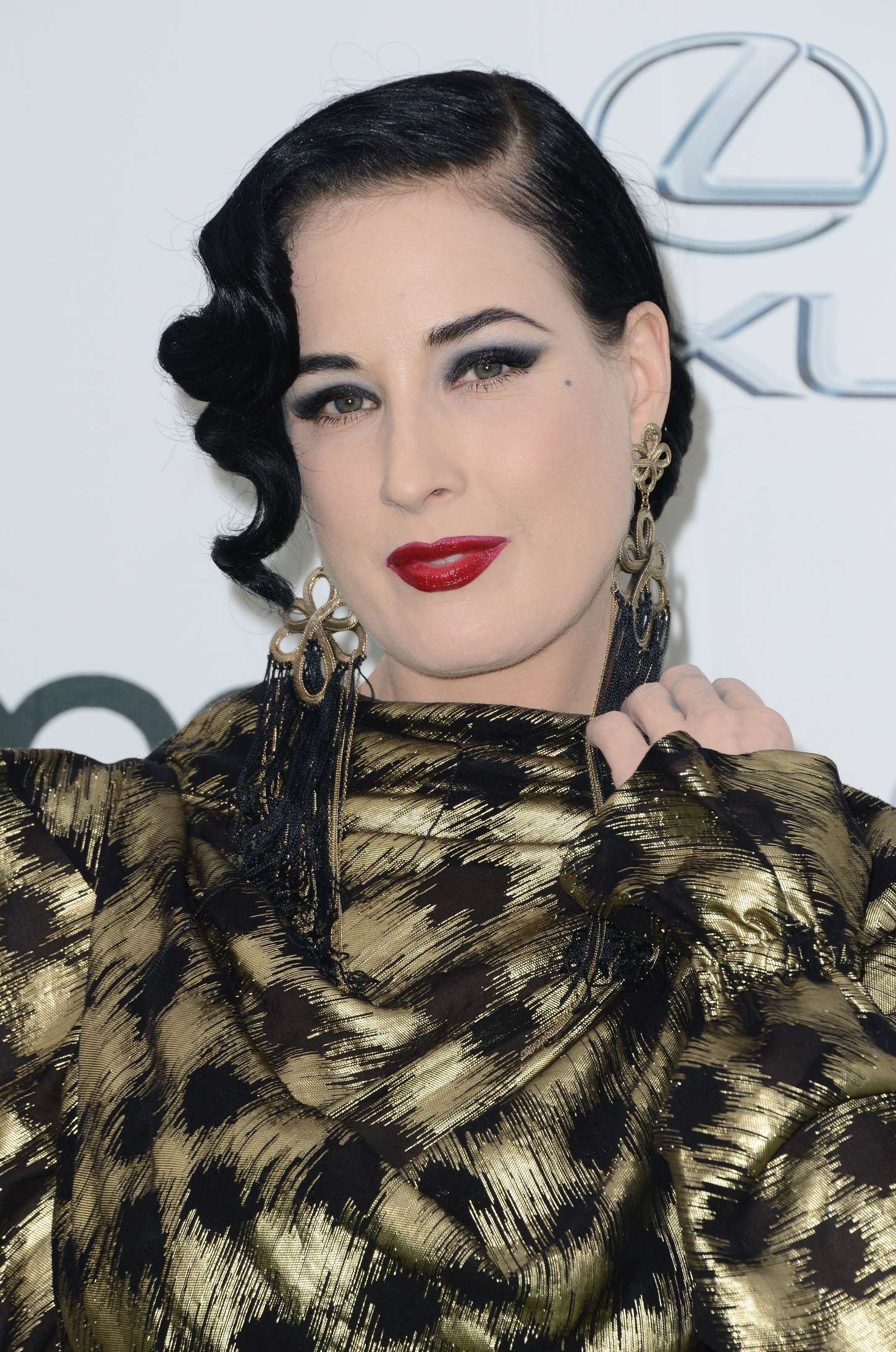 Dita Von Teese Annual EMA Awards in Burbank