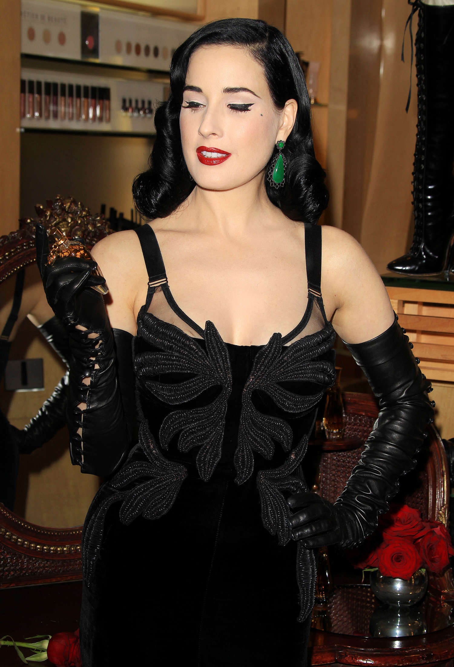 Dita Von Teese Fragrance Launch in Los Angeles