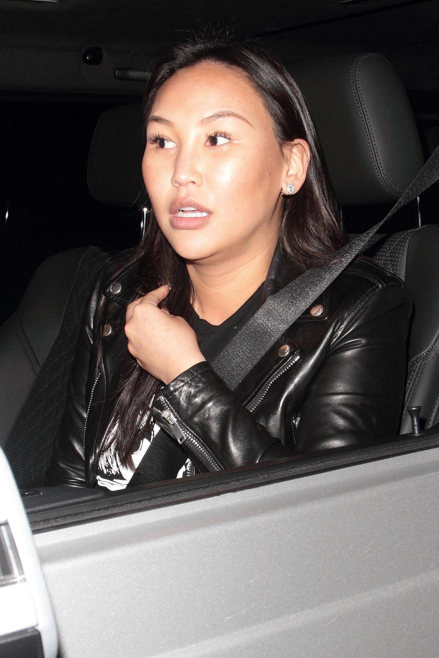 Dorothy Wang at Madeo Restaurant in Hollywood