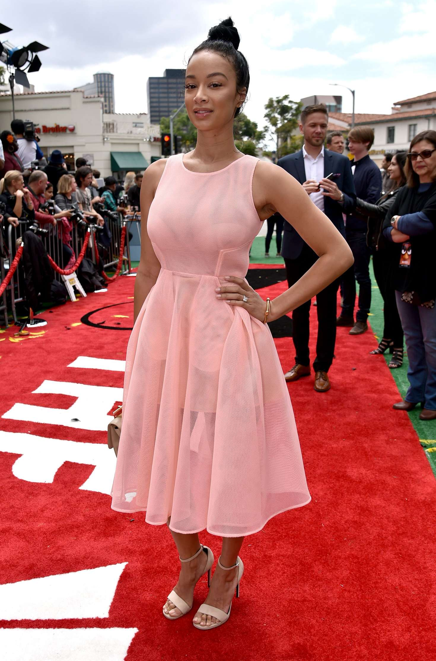 Draya Michele Angry Birds Premiere in Westwood
