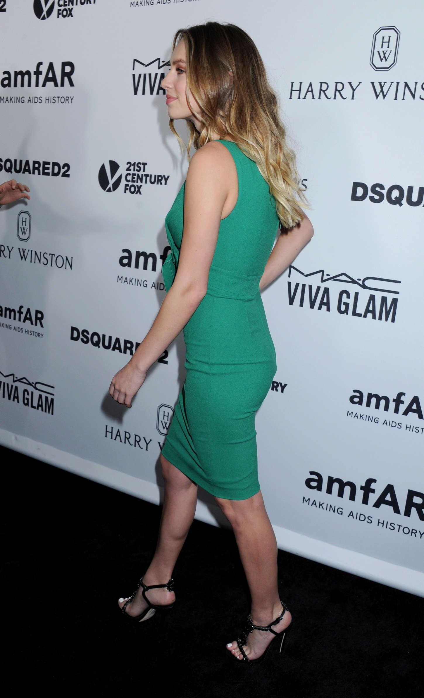 Dylan Penn amfARs Inspiration Gala Los Angeles in Hollywood