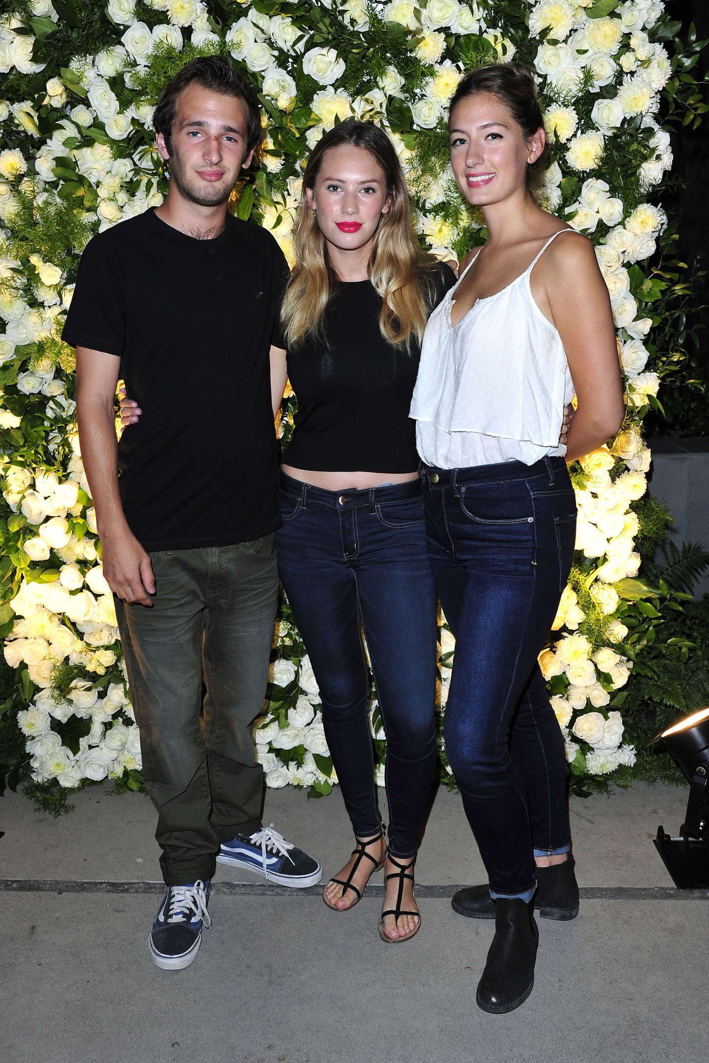 Dylan Penn Emma Roberts #AerieREAL Campaign Launch Dinner in Los Angeles