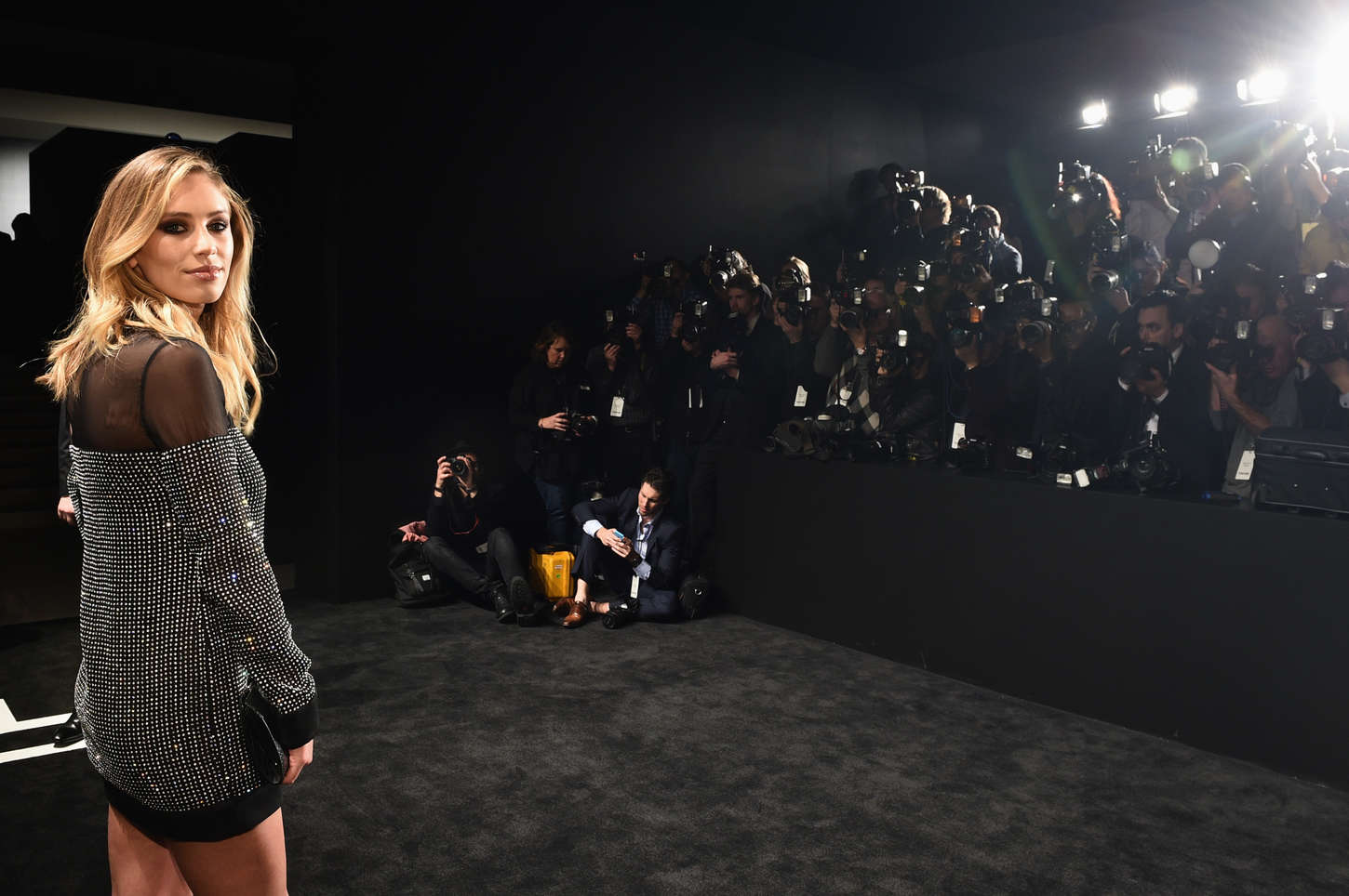 Dylan Penn Tom Ford A/W Womenswear Collection Presentation in Los Angeles