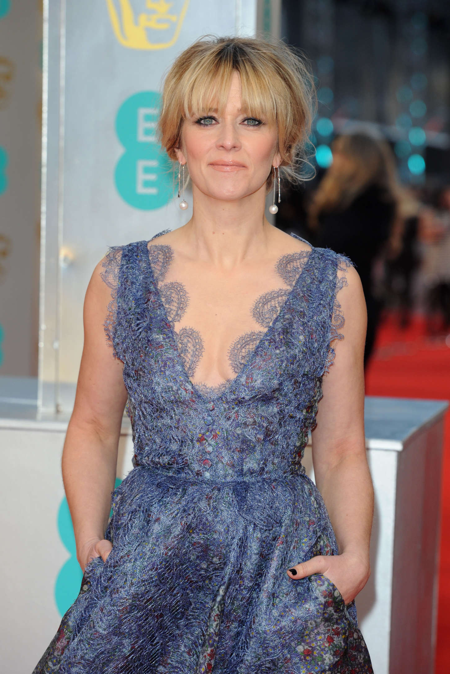 Edith Bowman EE British Academy Film Awards in London