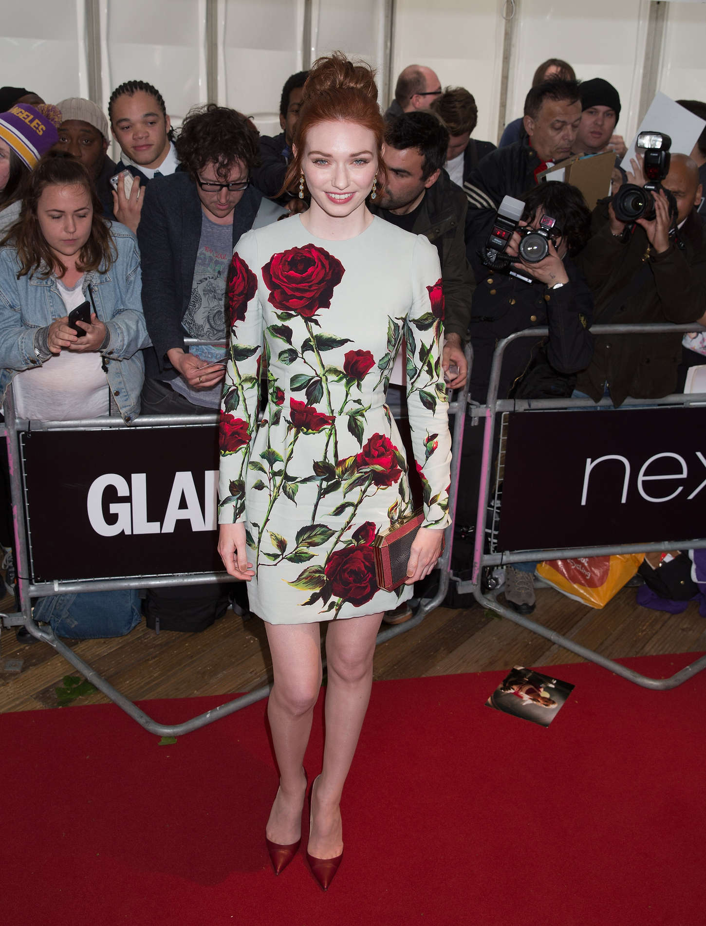 Eleanor Tomlinson Glamour Women Of The Year Awards in London