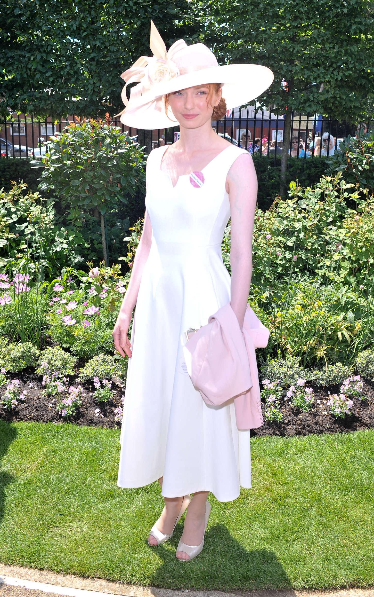 Eleanor Tomlinson Royal Ascot Ladies Day in Berkshire