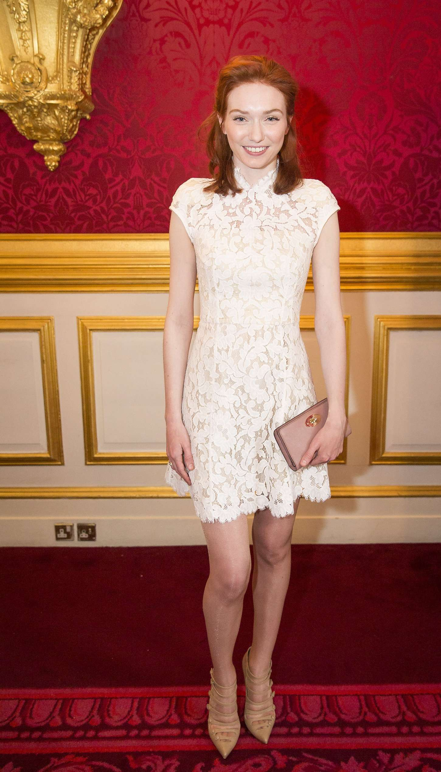 Eleanor Tomlinson The Final Of BBC2s Words Competition in London