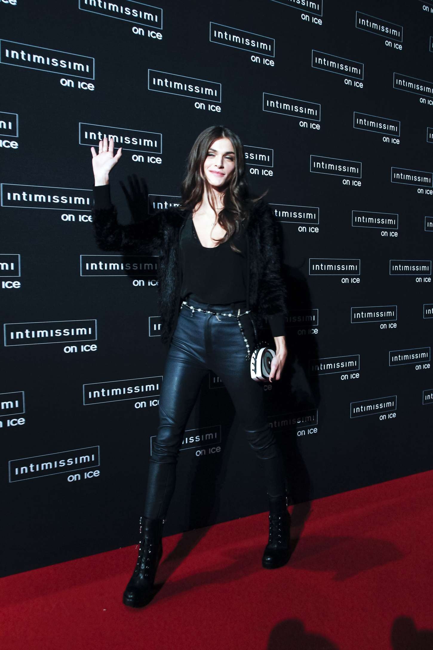 Elisa Sednaoui Intimissimi On Ice in Verona