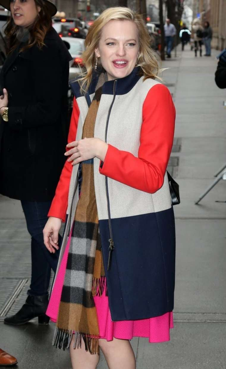 Elisabeth Moss Arrives at The View in New York