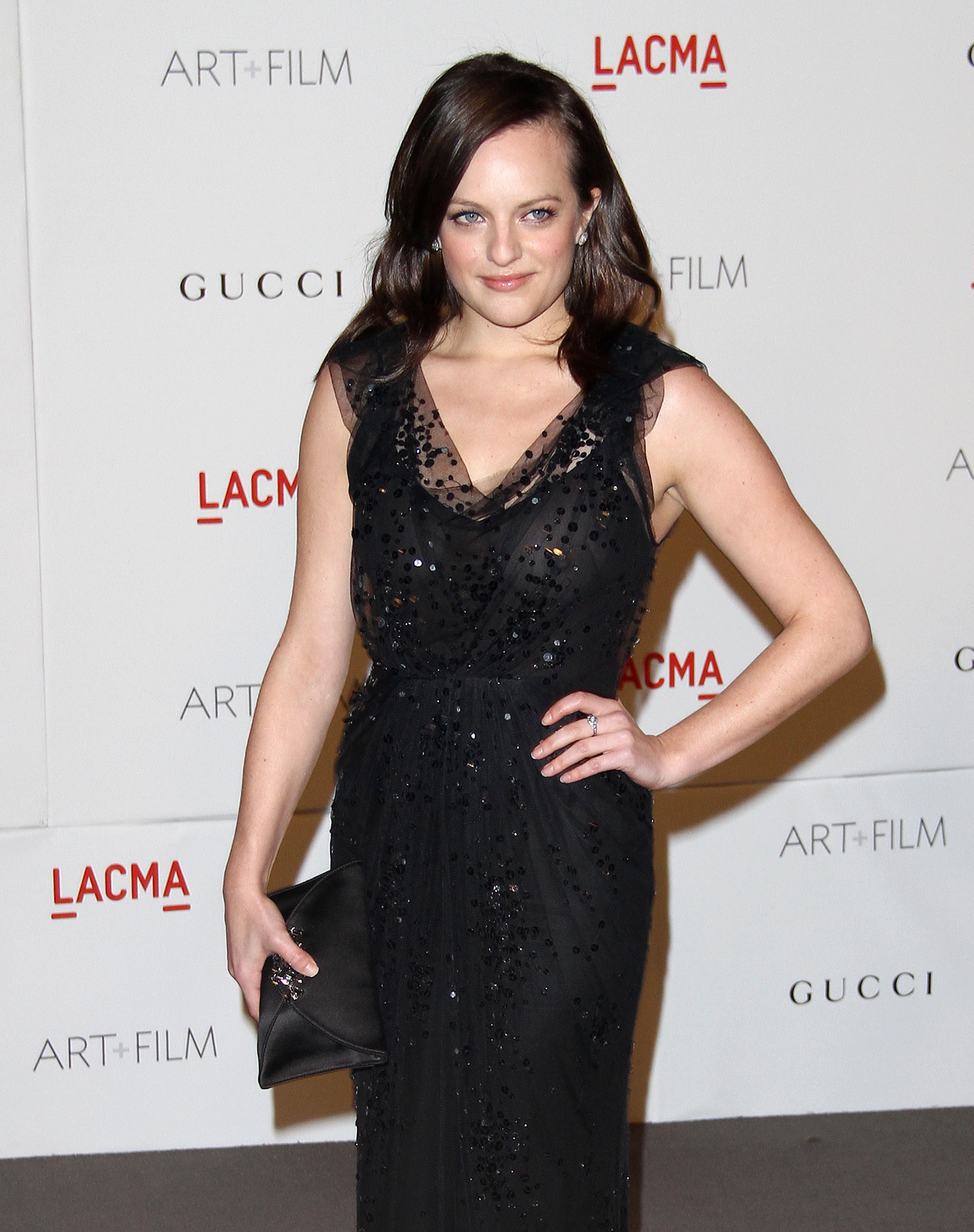 Elisabeth Moss at LACMA Art and Film Gala in Los Angeles