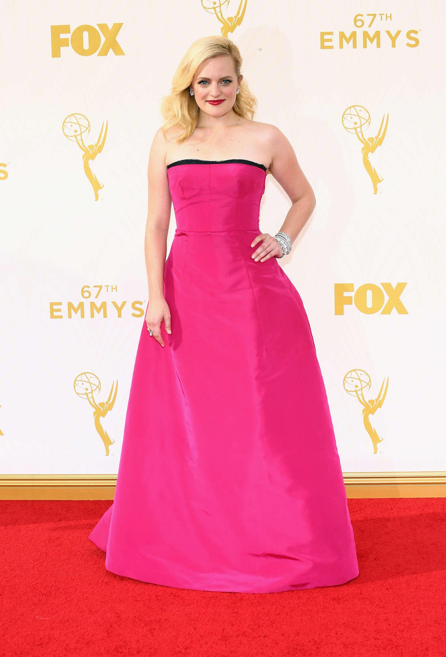 Elisabeth Moss Primetime Emmy Awards in Los Angeles