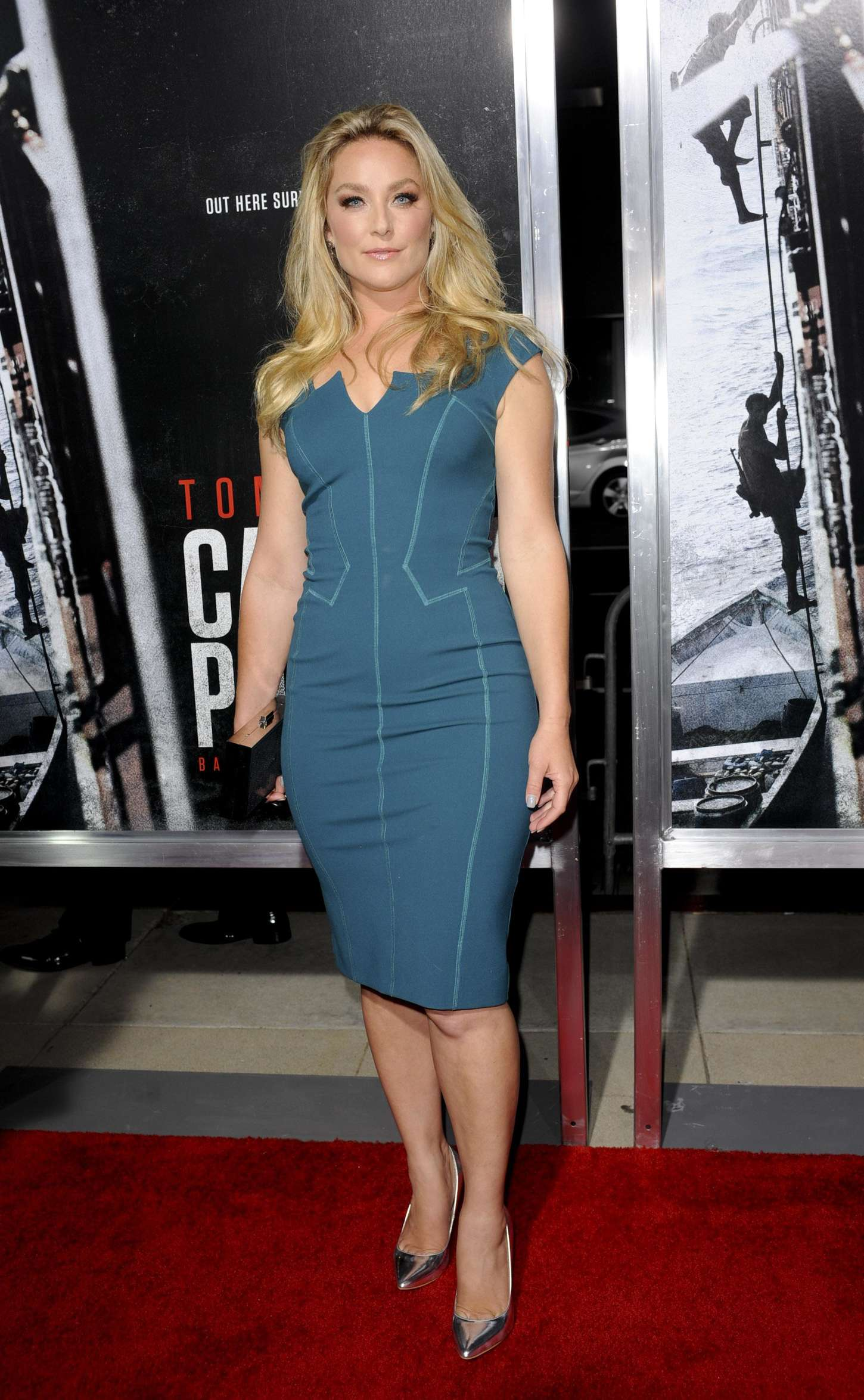 Elisabeth Rohm at Captain Phillips Premiere in Los Angeles