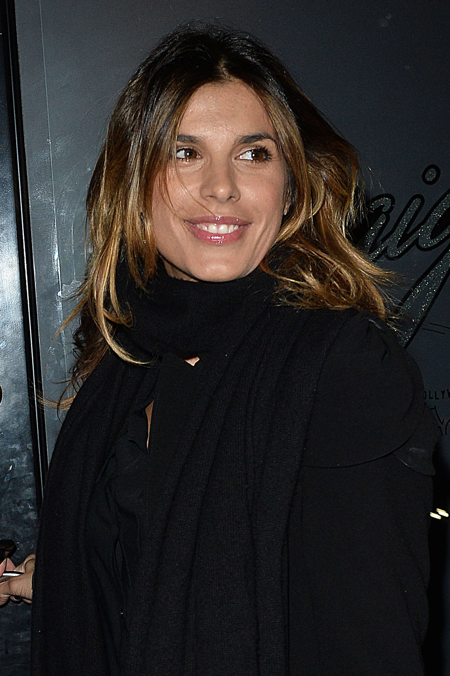 Elisabetta Canalis at Craigs Restaurant in West Hollywood