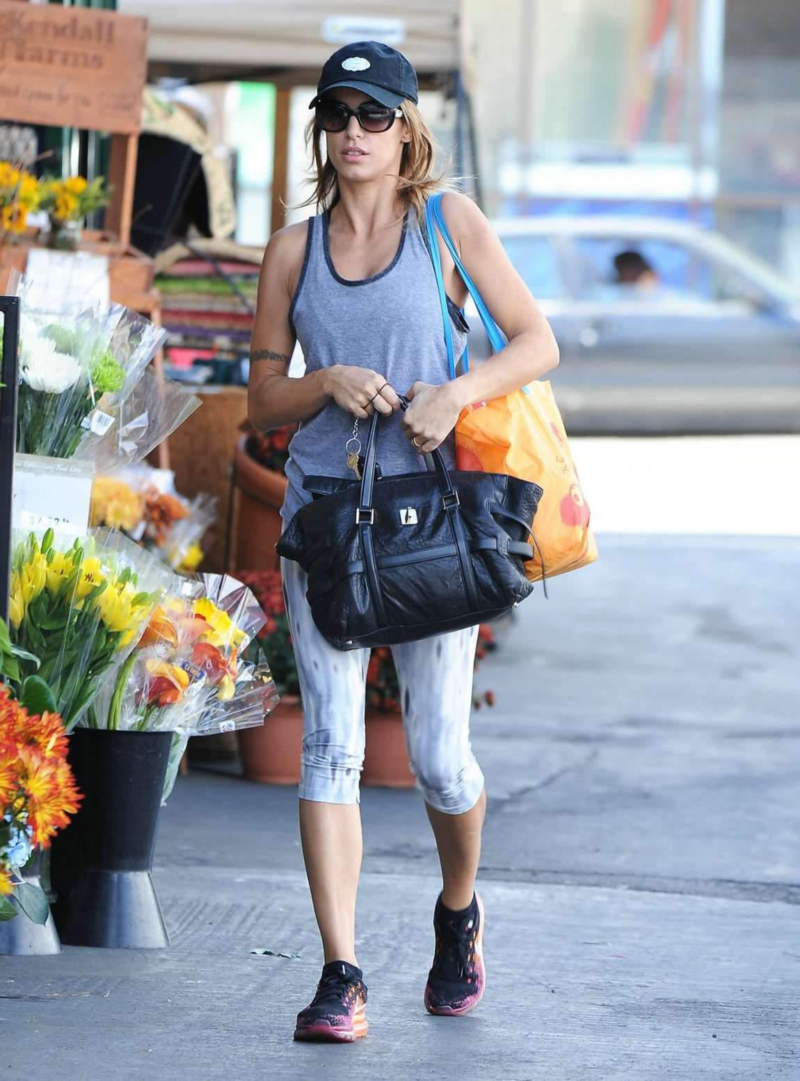 Elisabetta Canalis Style out in Los Angeles